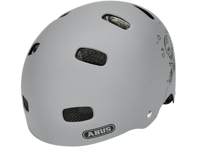 abus scraper kid 2 0 helmet grey ride g nstig kaufen. Black Bedroom Furniture Sets. Home Design Ideas